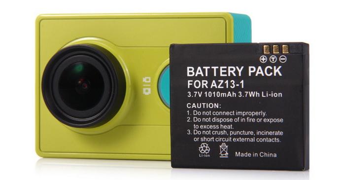XIAOMI YI bateria -80% 1,49$