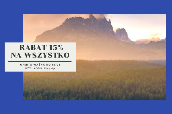 15% rabatu na wszystko w sklepie equip.pl do 15.03