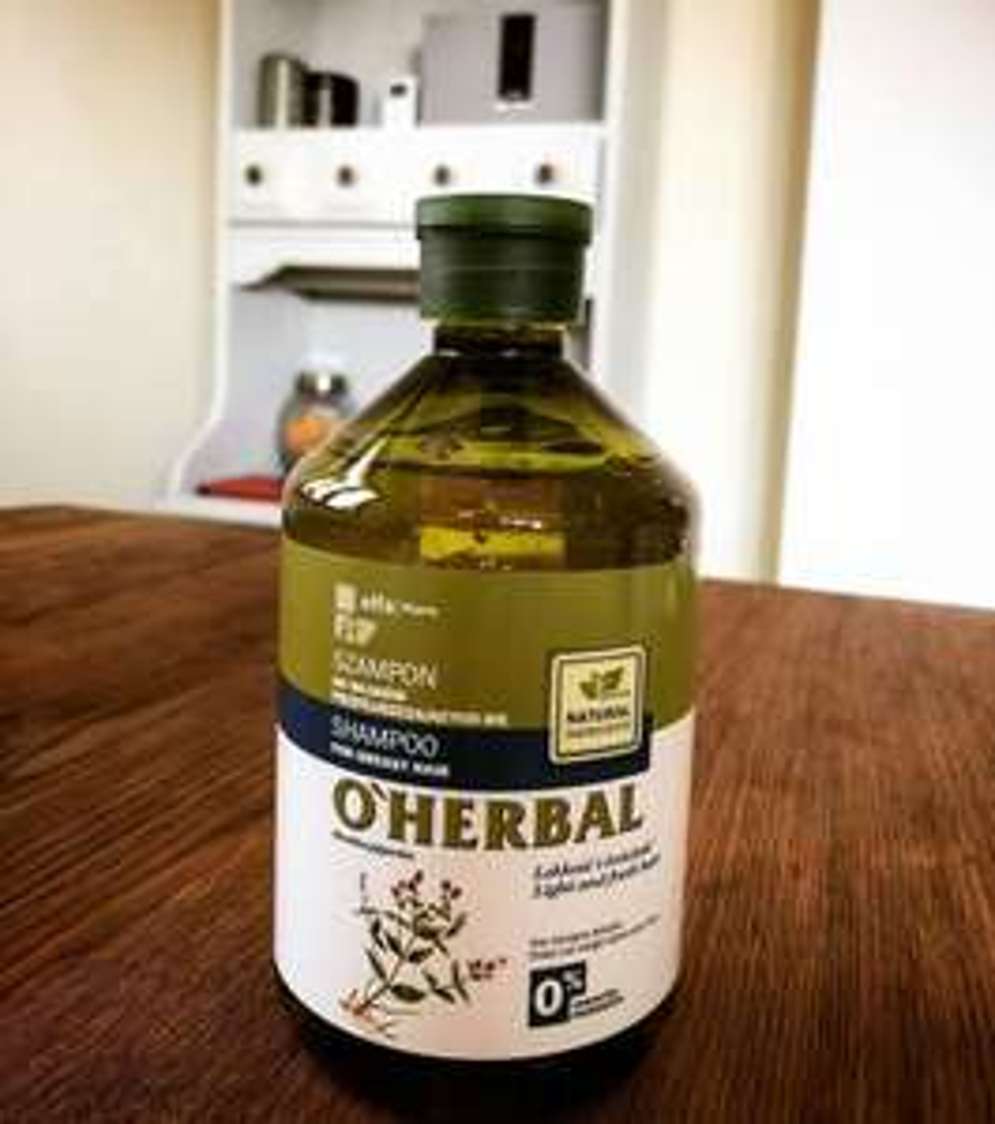 O'HERBAL szampon do włosów przetłuszczających się, z ekstraktem z mięty