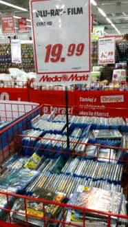 Filmy Blu-Ray @Media Markt (Gdańsk)