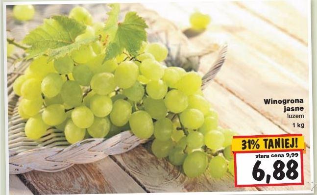 winogrona w niskiej cenie @ Kaufland
