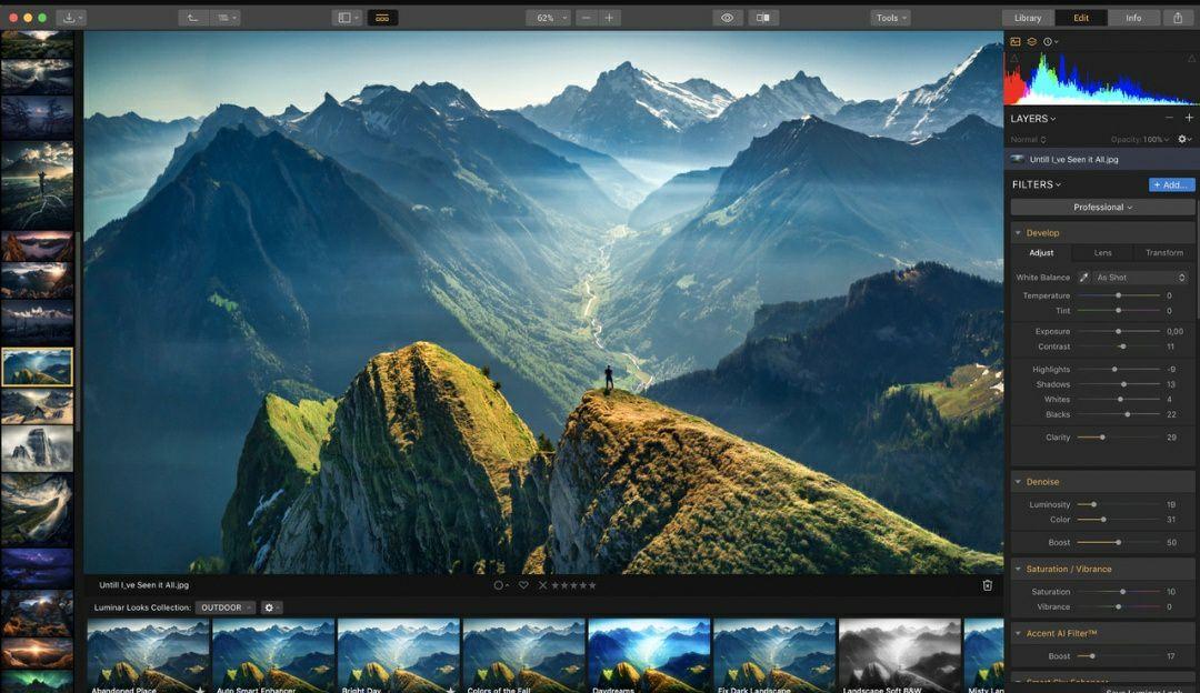 Luminar 3, program do edycji zdjęć za darmo (PC / Mac)