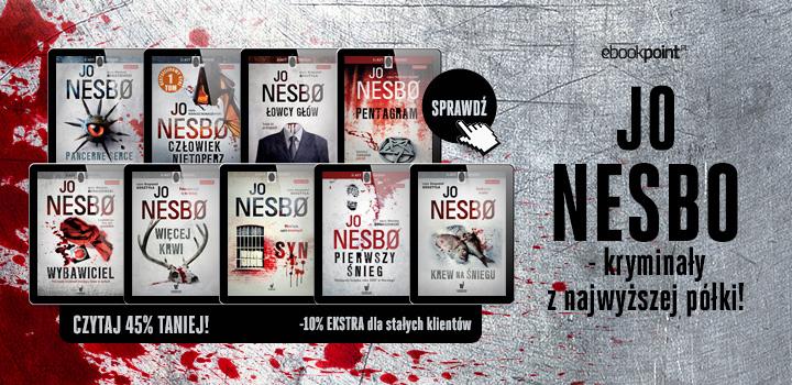 Jo Nesbo -45%/-55% ebooki i audiobooki @ Ebookpoint