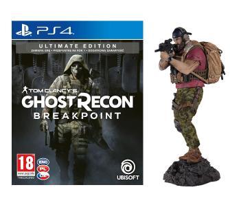 Tom Clancy's Ghost Recon Breakpoint - Edycja Ultimate + figurka PS4