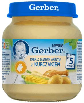 Obiadki Gerber 125g rossman