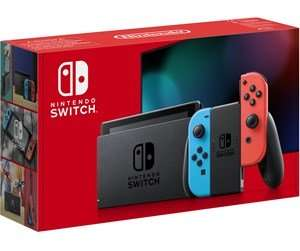 Nintendo switch revised model (red blue neon) + labo variety kit