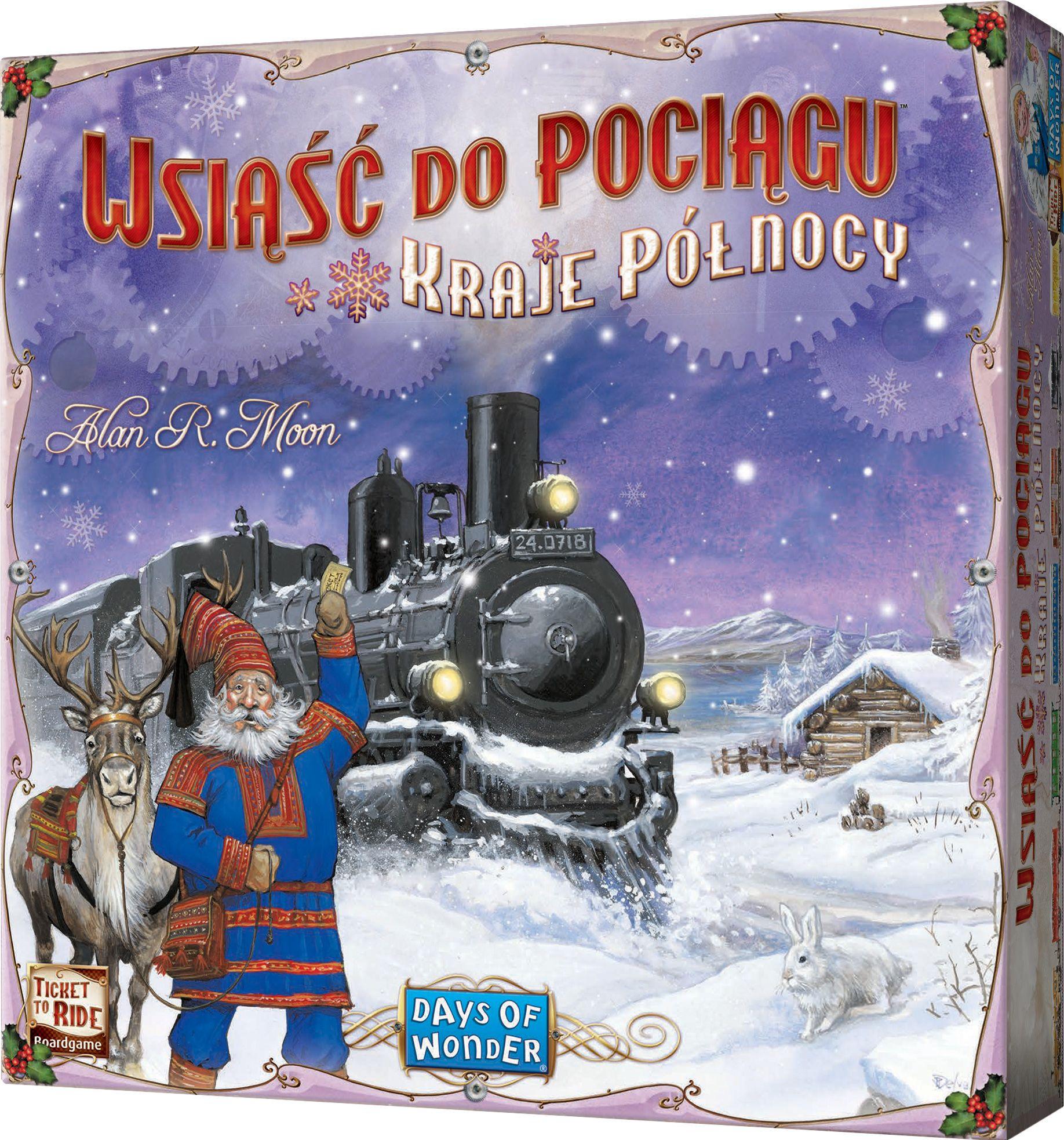 Wsiąść do pociągu kraje północy samodzielna gra planszowa