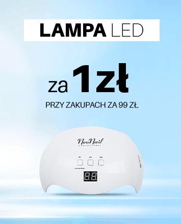 Przy zakupach za 99 zł lampa LED do manicure hybrydowego za 1zl