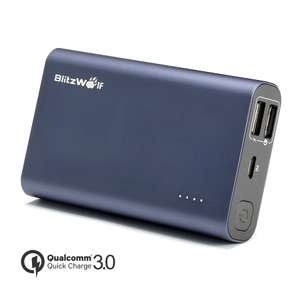 BlitzWolf® BW-P3 10000mAh Power bank Quick Charge 3.0@Banggood