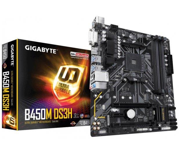 Płyta główna Gigabyte B450M DS3H (dla procesorów AMD)