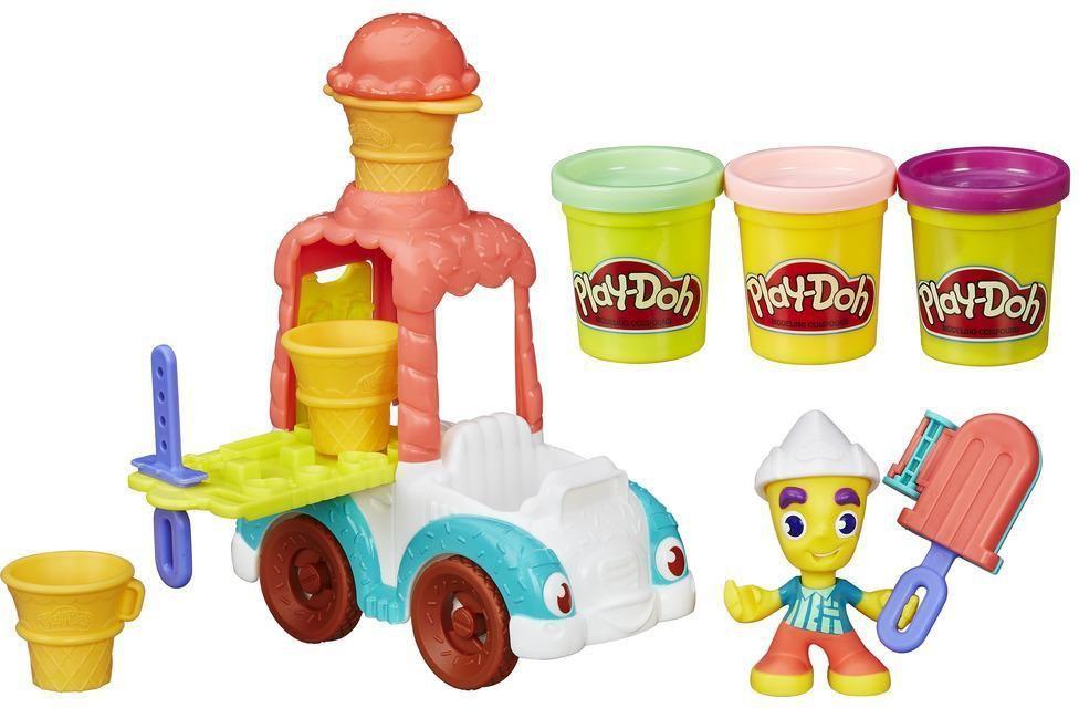 Play-Doh Town Auto z lodami