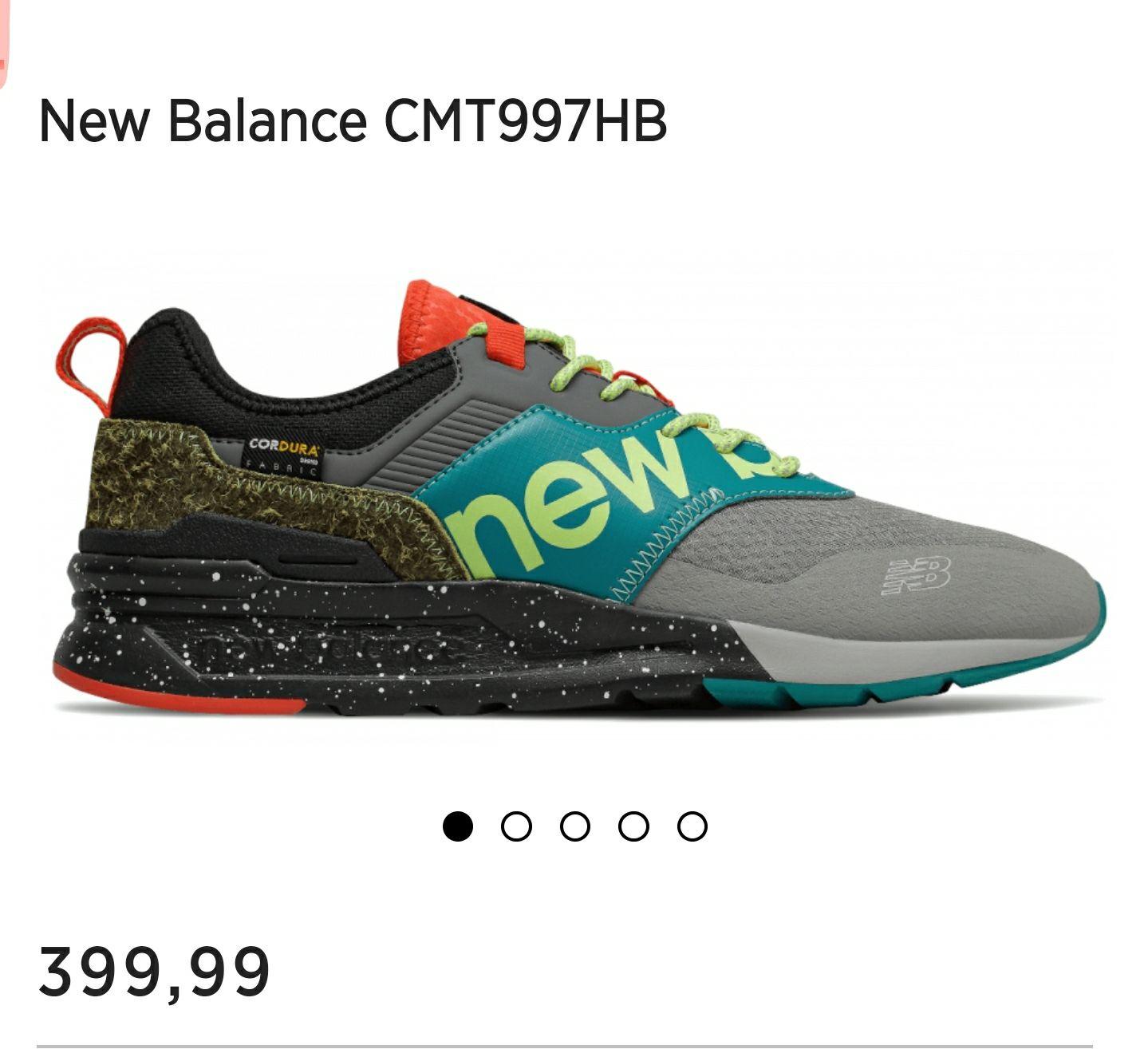 Buty New Balance CMT997HB