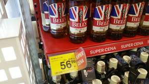 Bell's whiskey 1l za 56,99 @Carrefour