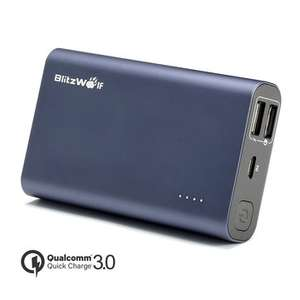 #Banggood: Blitzwolf 10000mAh QC3.0 (snap up)