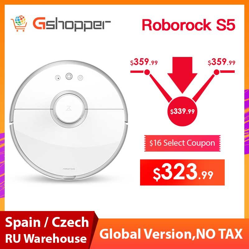 Odkurzacz Xiaomi Roborock S50 z wysyłką z Hiszpanii @AliExpress