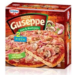 #Biedronka: Pizza Guseppe z szynką i pieczarkami 2 sztuki