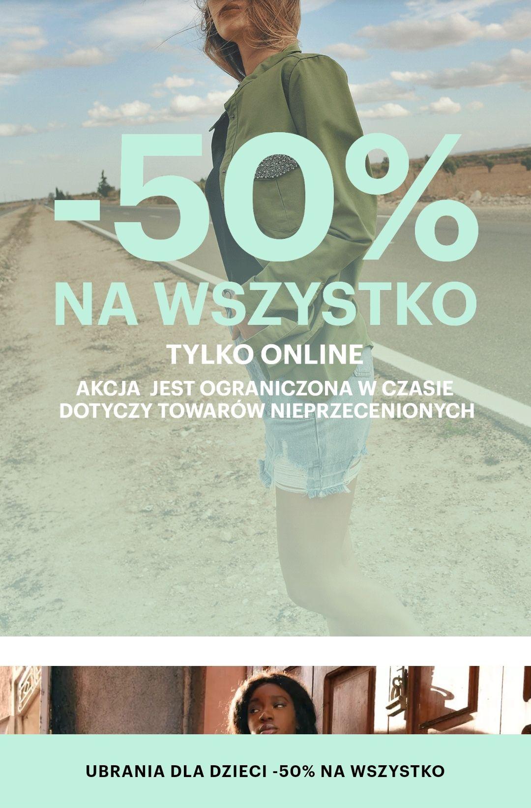 -50% na nieprzeceniony towar gate. shop