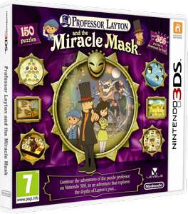 Professor Layton and the Miracle Mask (Nintendo 3DS) za 24,99zł @ cdp.pl/Ultima/KonsoleiGry
