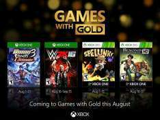 Games With Gold na sierpień 2016