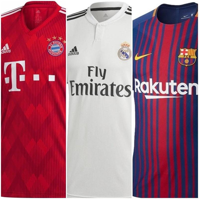 Koszulki Piłkarskie - Bayern / Real / Barcelona / PSG / Reprezentacje / inne.