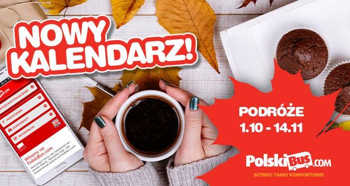 @PolskiBus Bilety od 1zł (1.10-14.11)