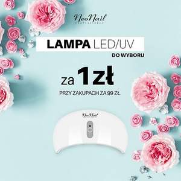 Przy zakupach za 99 zł lampa LED za 1zl