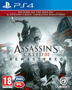 Assassin's Creed 3 + Liberation Remaster PS4