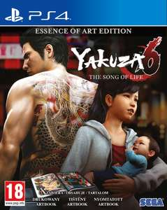 Yakuza 6: The Song of Life - Essence of Art Edition (PS4) w merlin.pl
