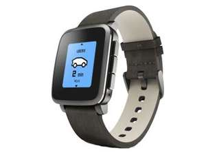 Smartwatch Pebble Time Steel @iBood