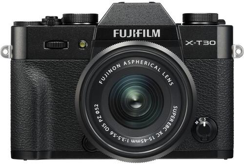 Aparat cyfrowy Fujifilm X-T30 + Fujinon XC 15-45mm f/3.5-5.6 OIS PZ czarny + dodatkowy akumulator