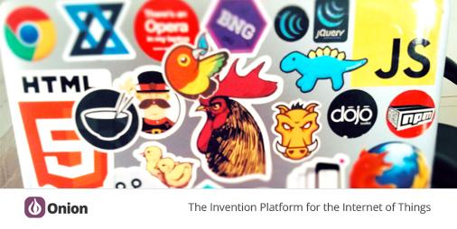 Darmowe naklejki (Linux, PHP, CS++ i inne) @ onion.io