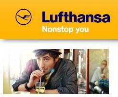 Oszczędzaj nawet do 40% @ Lufthansa