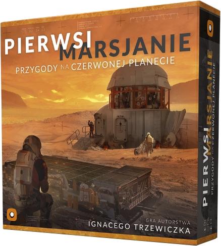 Pierwsi Marsjanie: Przygody na Czerwonej Planecie - gra planszowa