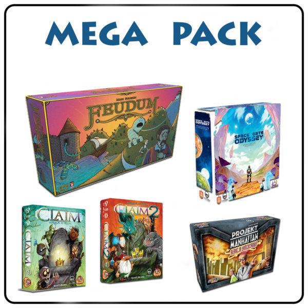 Mega Pack planszówek od Czachy w sam raz na najbliższe dni