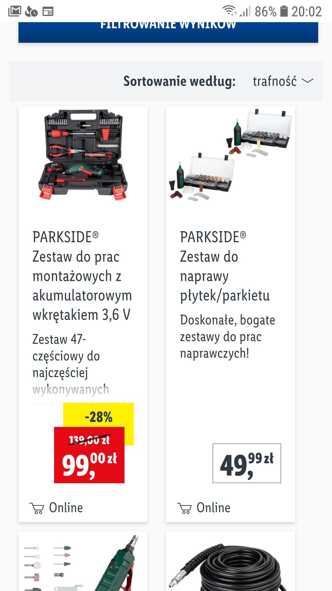 PARKSIDE® Zestaw do prac montażowych z akumulatorowym wkrętakiem 3,6 V