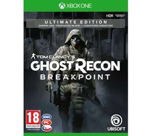 Tom Clancy's Ghost Recon Breakpoint - Edycja Ultimate + figurka Xbox One, RTV EURO AGD