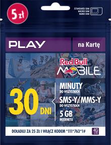 Red Bull Mobile - nawet 36 GB gratis do doładowania
