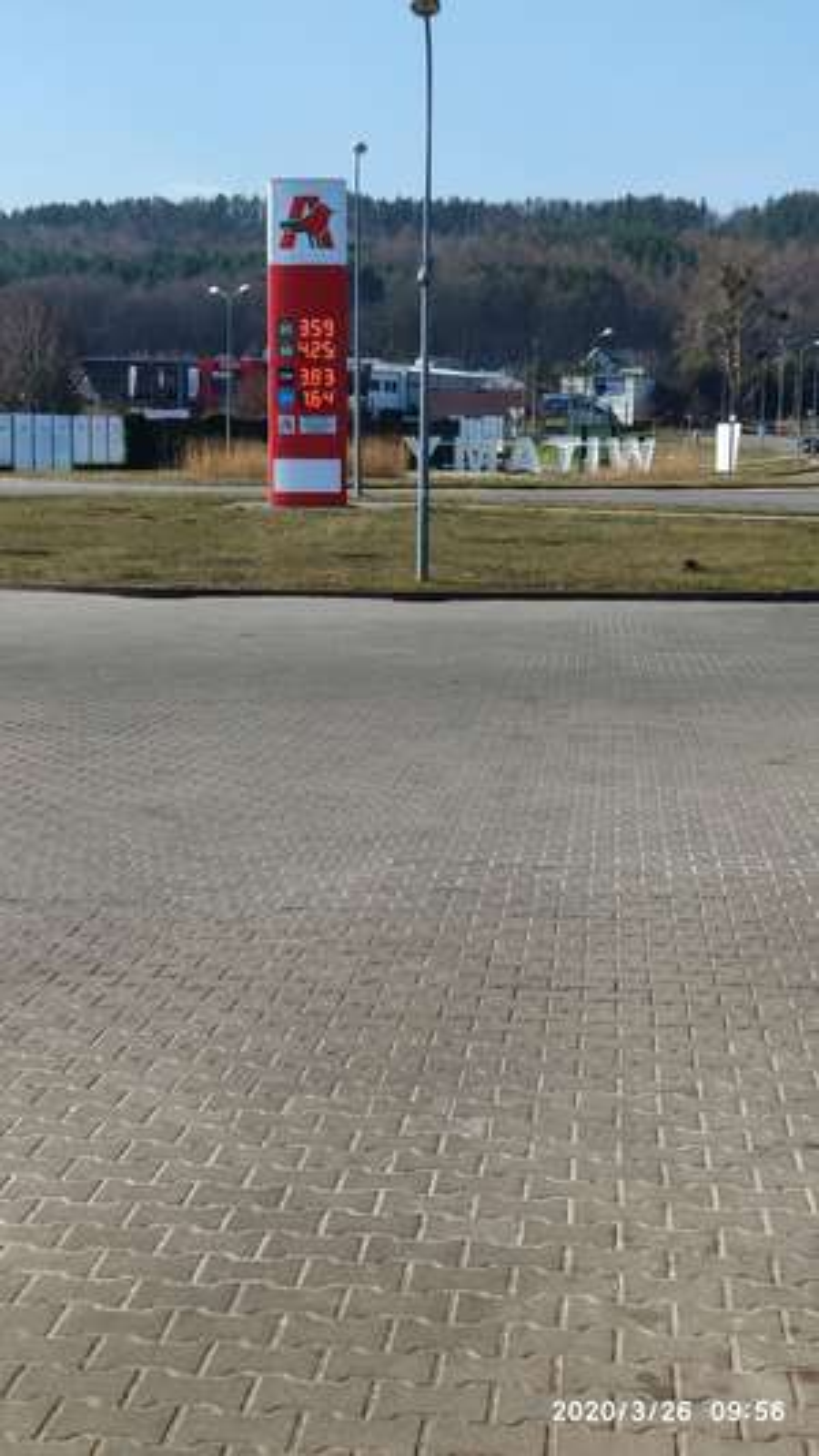 Paliwo Auchan Rumia Pb 95 - 3,57 zł