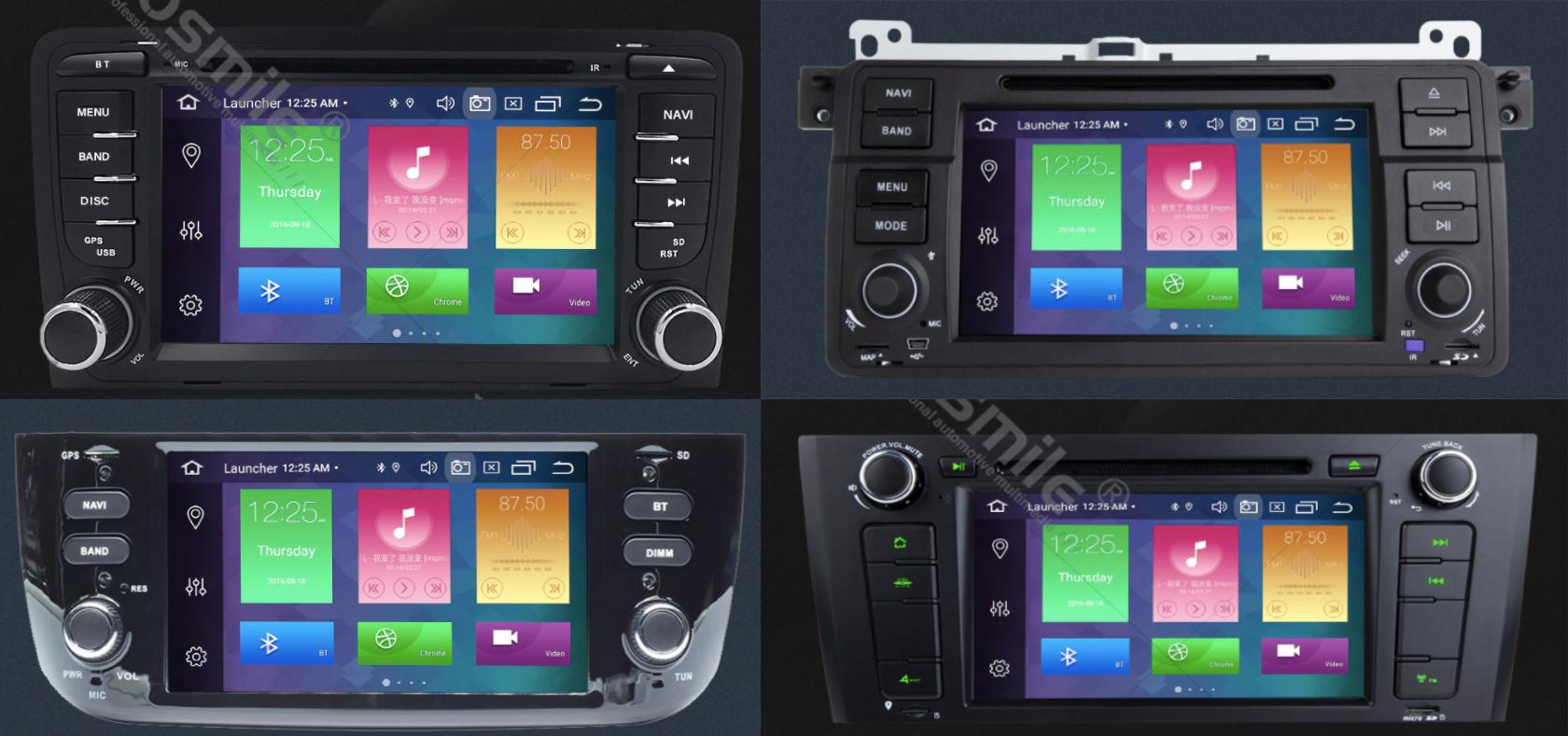 Zestawy Car Audio 2 DIN z Androidem z EU (BWM, AUDI, VW i inne) @AliExpress