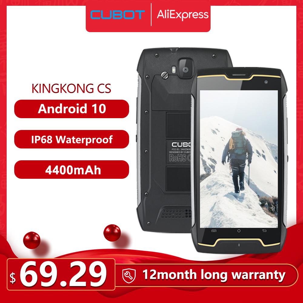 Cubot KingKong CS IP68 4400mAh Dual SIM 70,41$