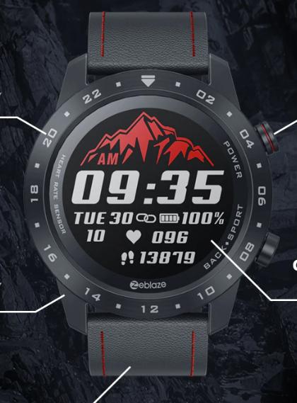 Trwały wodoodporny Smartwatch NEO2 monitor zdrowia fitness BT 5.0 Android/IOS $33.99
