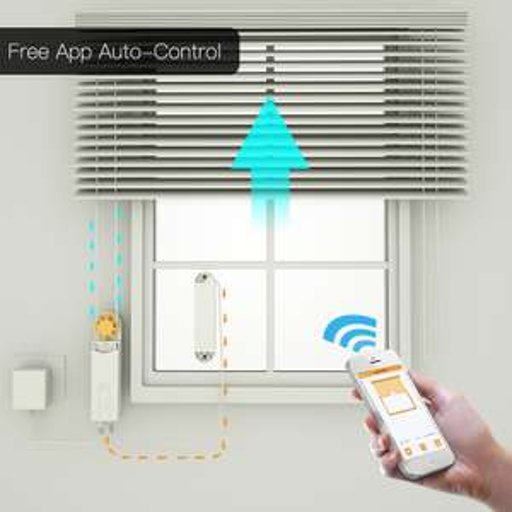 DIY inteligentny system do sterowania roletami łańcuchowymi silnik zasilany przez Panel słoneczny lub zasilacz Bluetooth kontrola aplikacji
