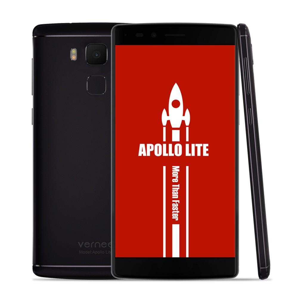 Vernee Apollo Lite(4GB RAM+32GB ROM,MTK6797 Helio X20 64-bit Deca Core,Czytnik linii papilarnych,LTE,4K,USB-C,szybkie laowanie itp.)