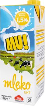 Mleko UHT Wart Milk 1,5% z aplikacją Gram Więcej - Gram Market