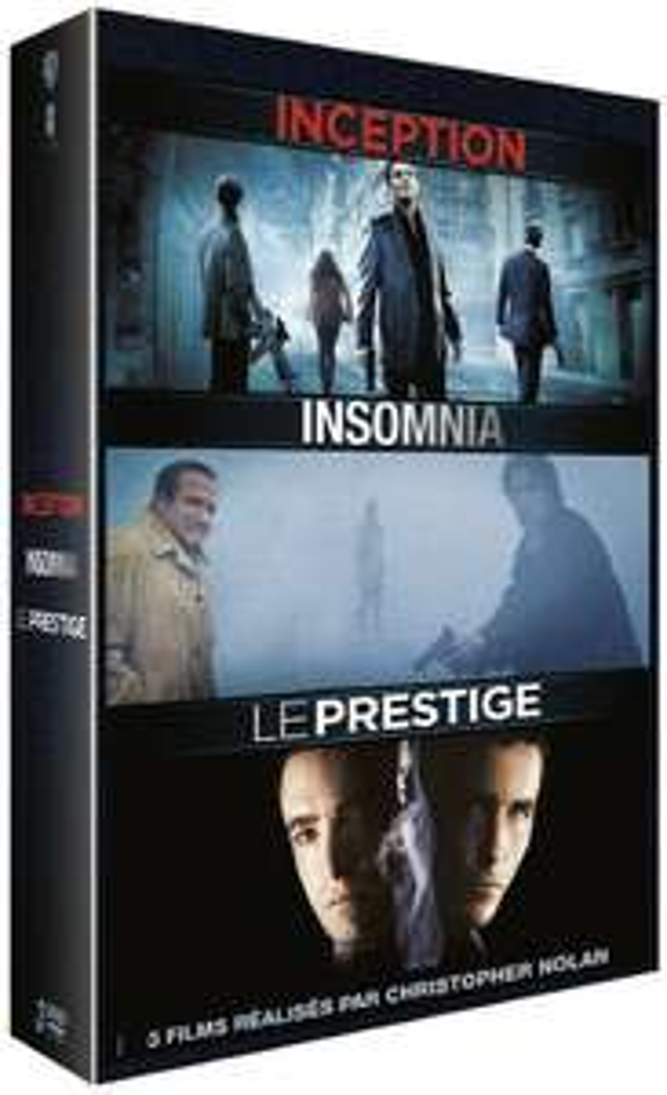 3 filmy Nolana na Blu-Ray za ok. 46zł (Incepcja, Insomnia, Prestiż) @ Amazon.fr