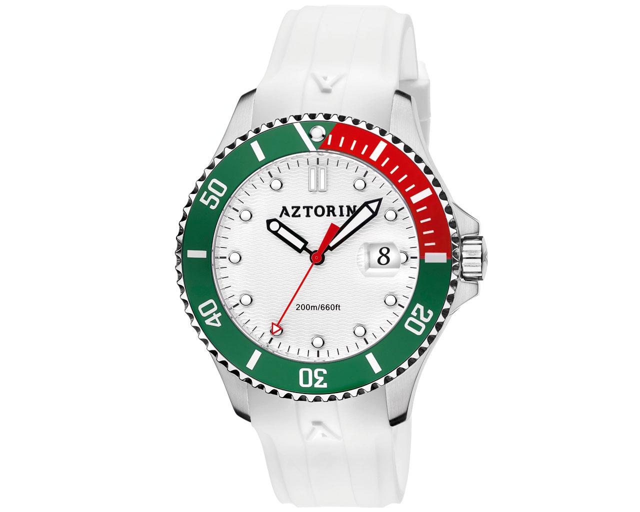 Zegarek kwarcowy AZTORIN SPORT (szafirowe szkło)
