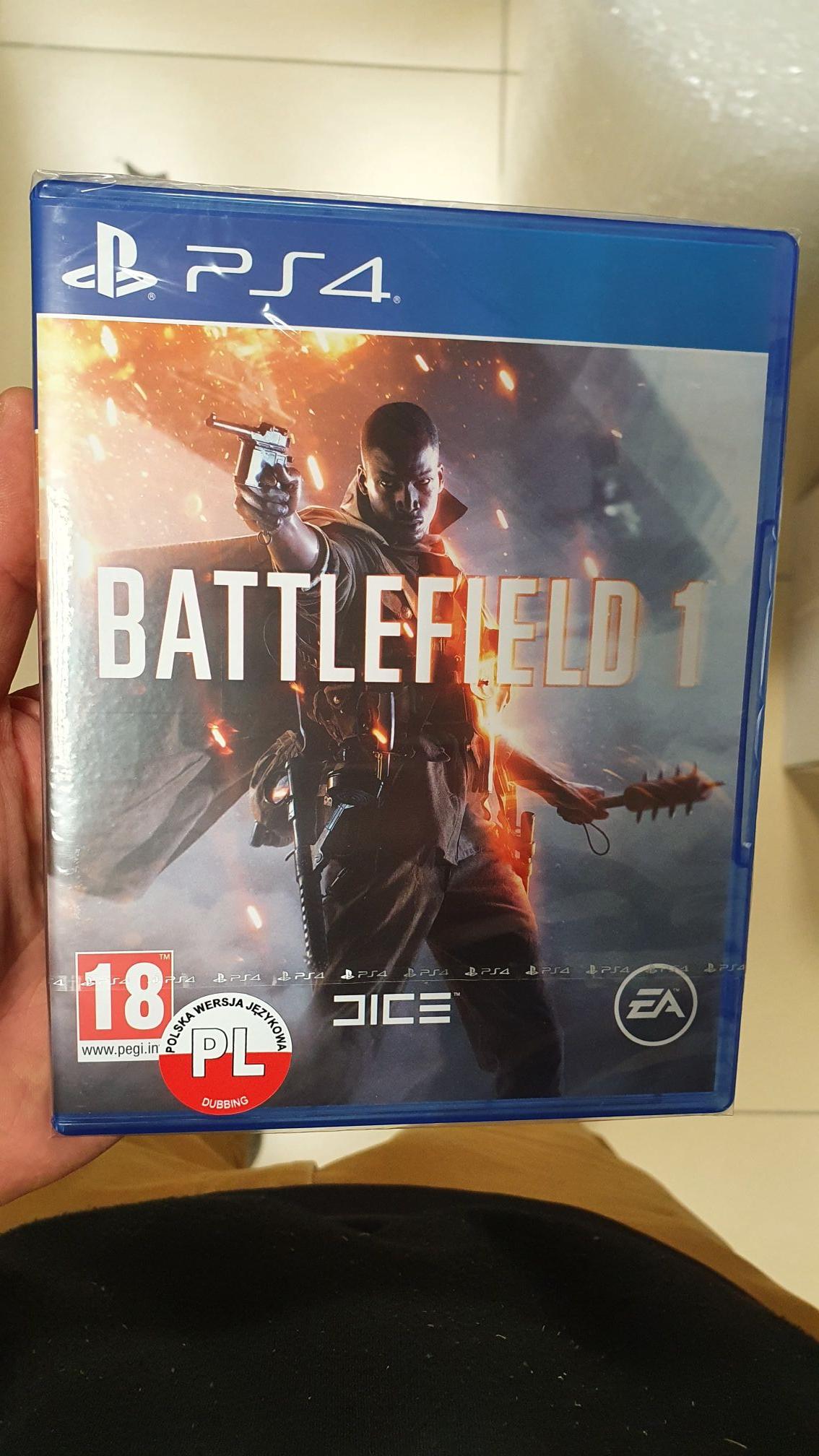 Battlefield 1 PS4 PL za 19 zł