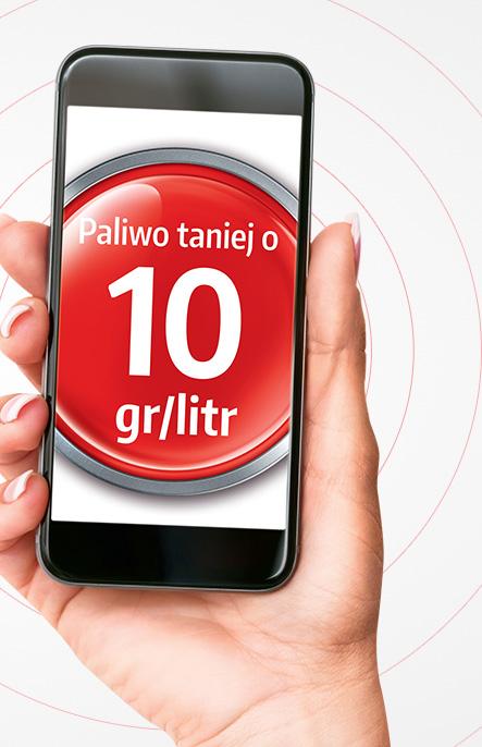 10 groszy RABATU na każdy litr paliwa w aplikacji Vitay @ Orlen