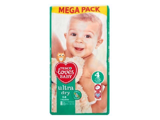 Pieluchy Tesco Loves Baby za 24,99zł @ Tesco