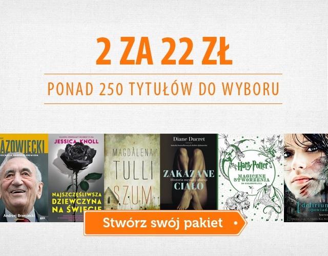 2 książki za 22 zł w Znaku (dostawa do kiosku ruchu 3,90)